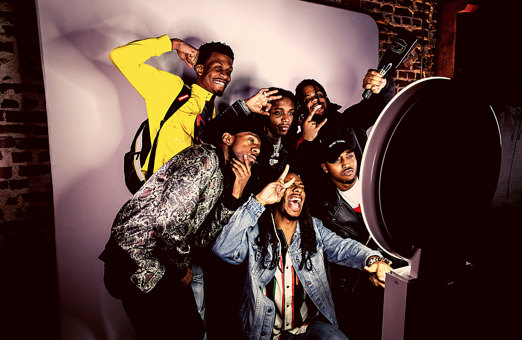 All Def Party Group Photoshoot Photobooth