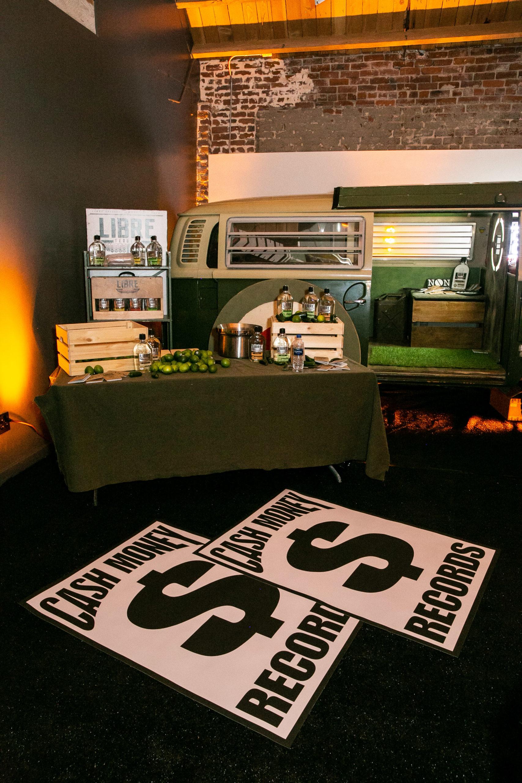 All Def Party Libre Bar Station Setup