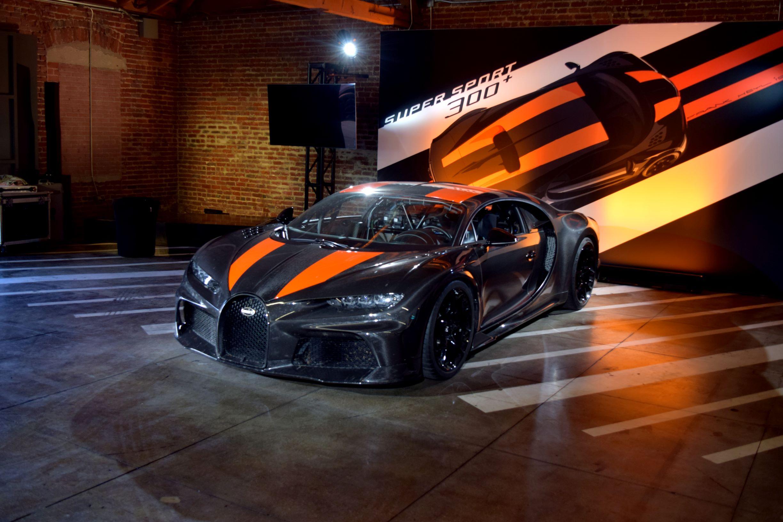 Bugatti Chiron Super Sport 300 LA Auto Show Party