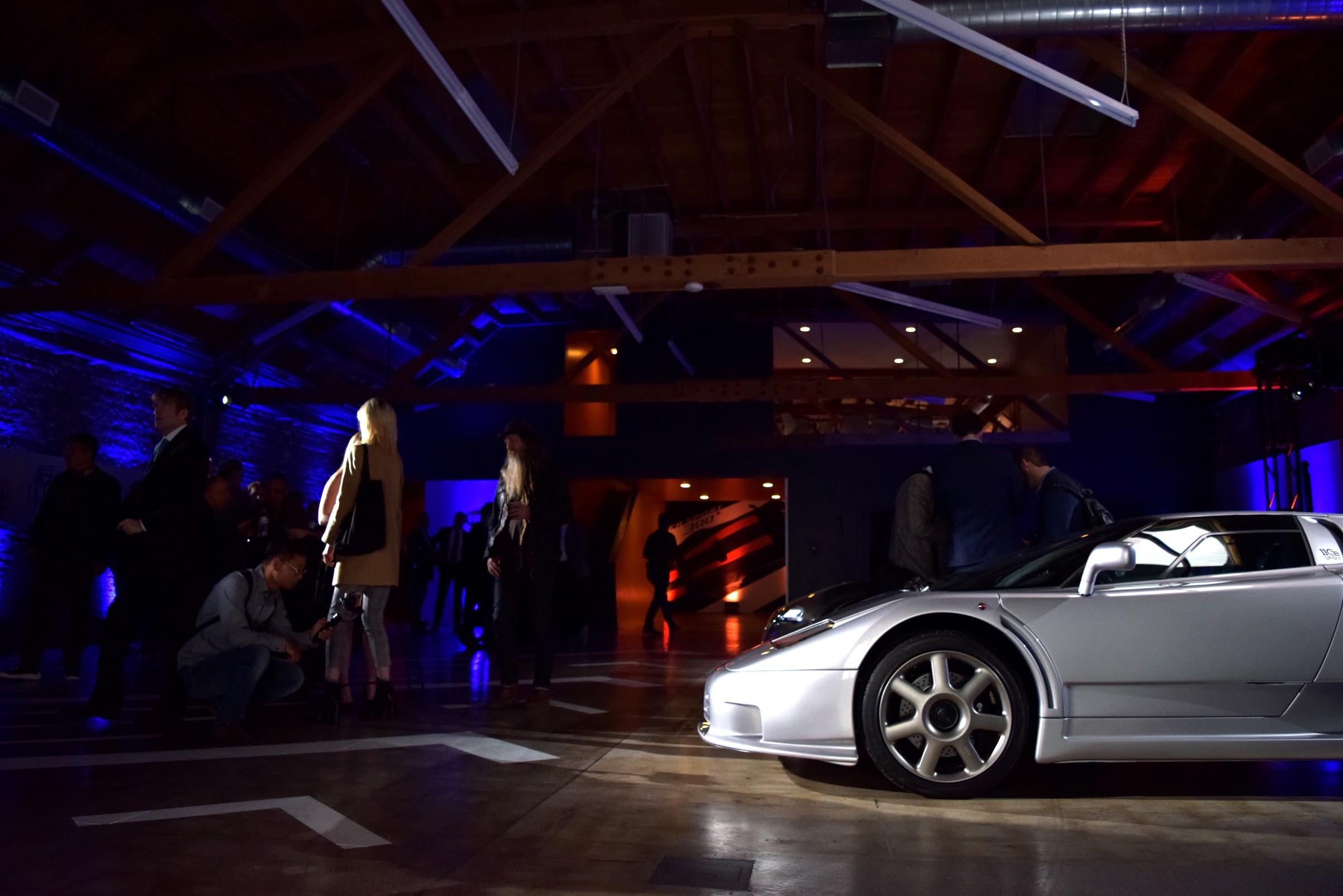 Bugatti EB110 Press Party LA Auto Show