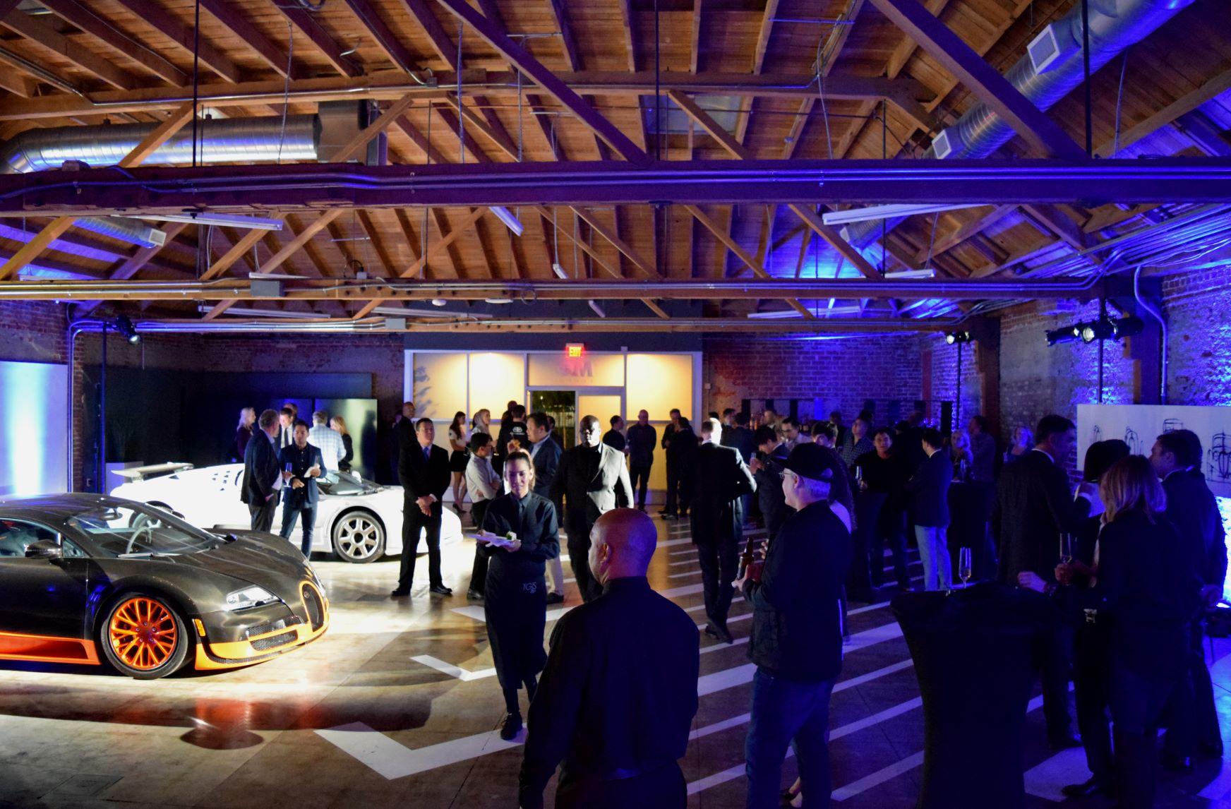 Bugatti LA Auto Show Press Media Party with Veyron 16.4 and EB110