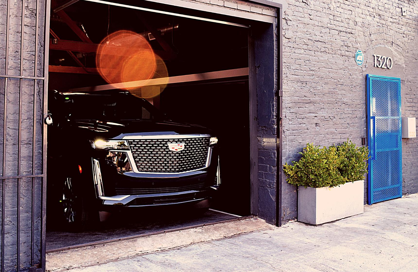 Cadillac Escalade Exiting MGS Rear Door