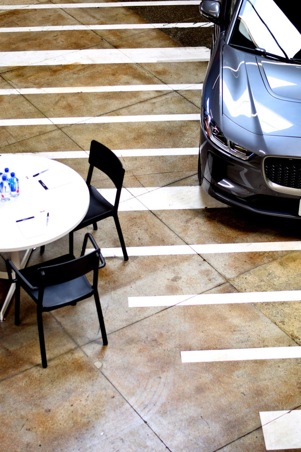 Car Clinic Focus Group Table Setup