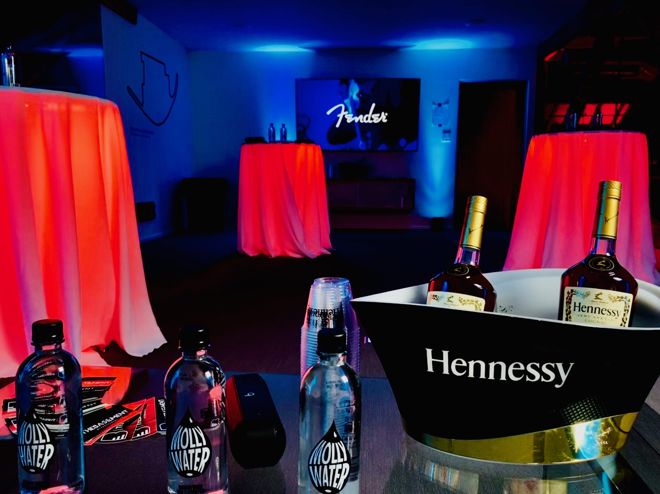 Fender Party Hennessy VIP Lounge
