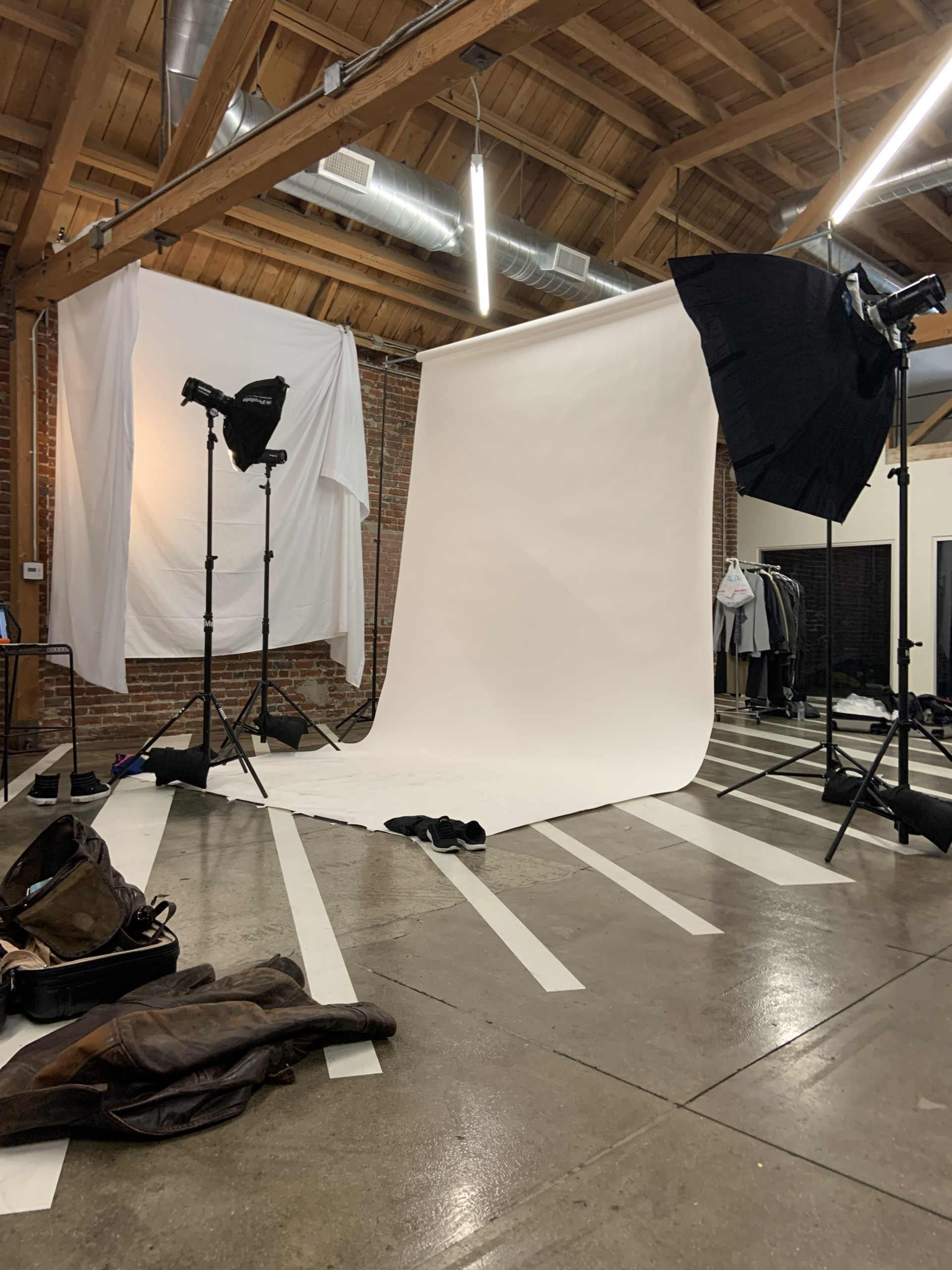 GQ Finn Whittrock Photoshoot Behind-the-Scenes Setup
