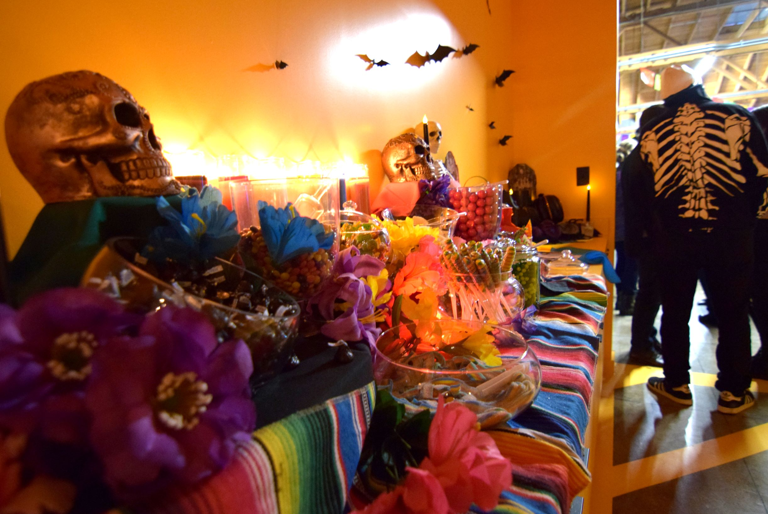 Halloween Candy Bar in the Yellow Hall