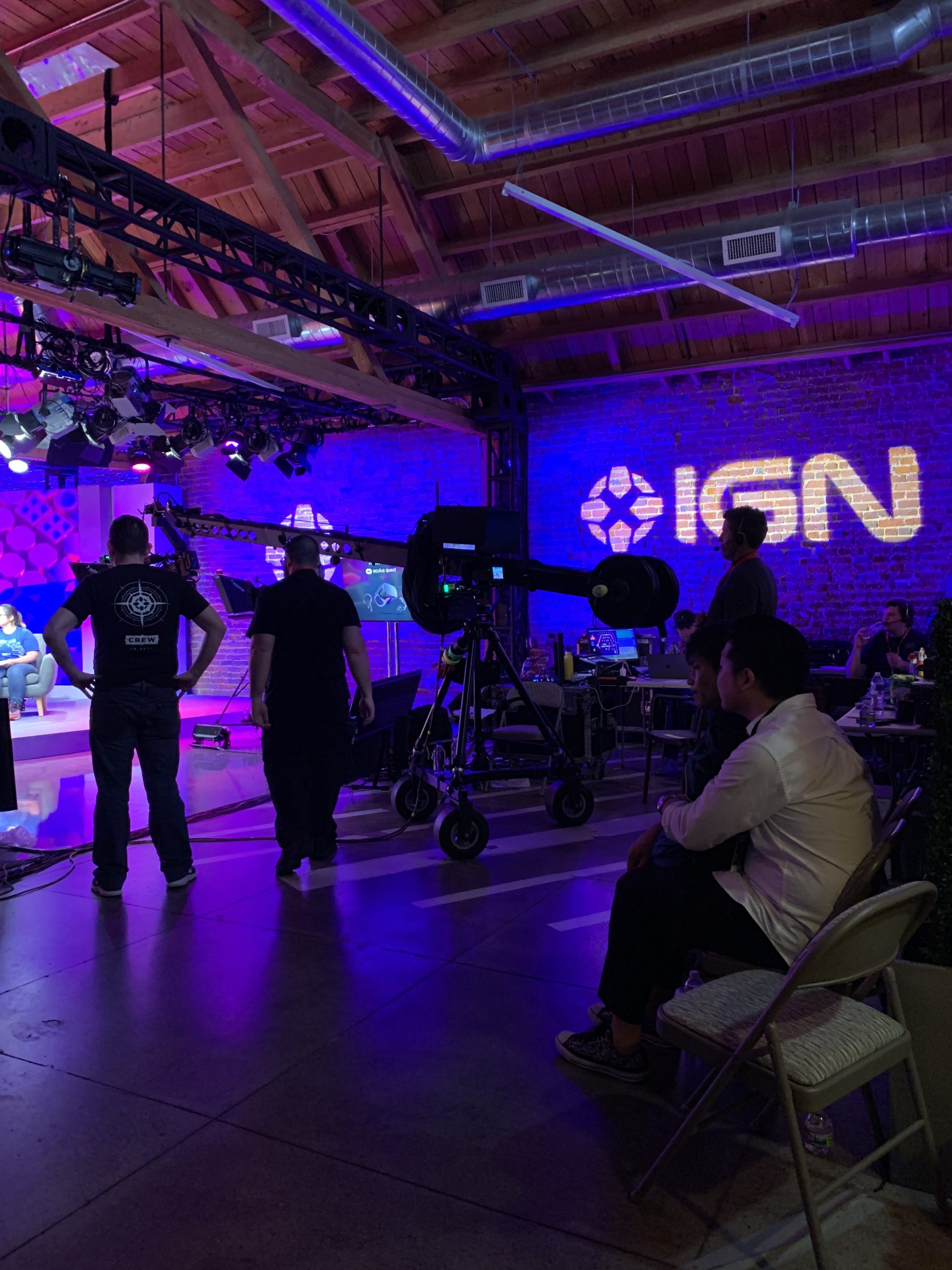 IGN E3 2019 Behind-the-Scenes Production Crew