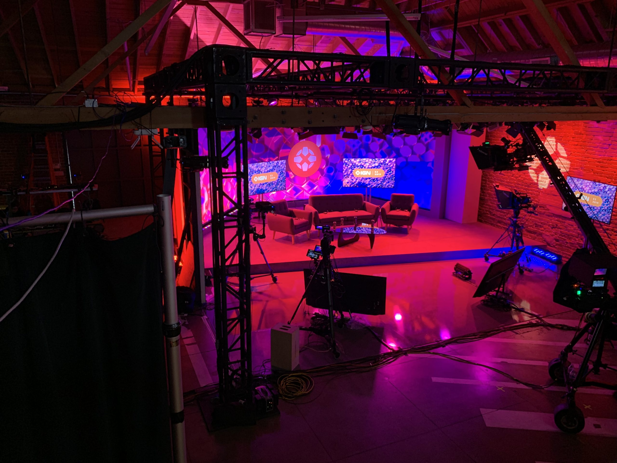 IGN E3 2019 Stage Behind-the-Scenes