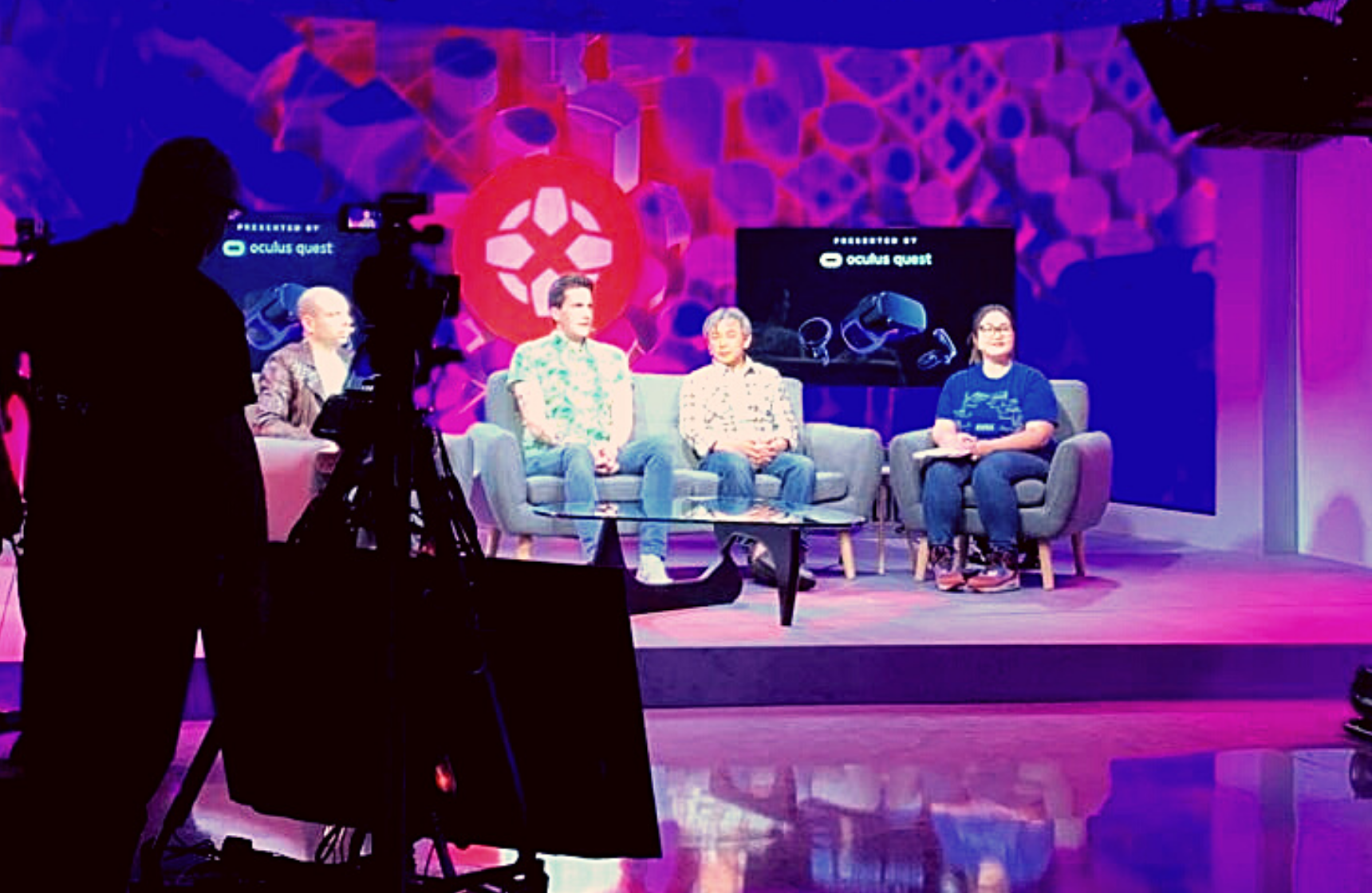 IGN at E3 Set Stage for Talent and Media Interviews Behind the Scenes