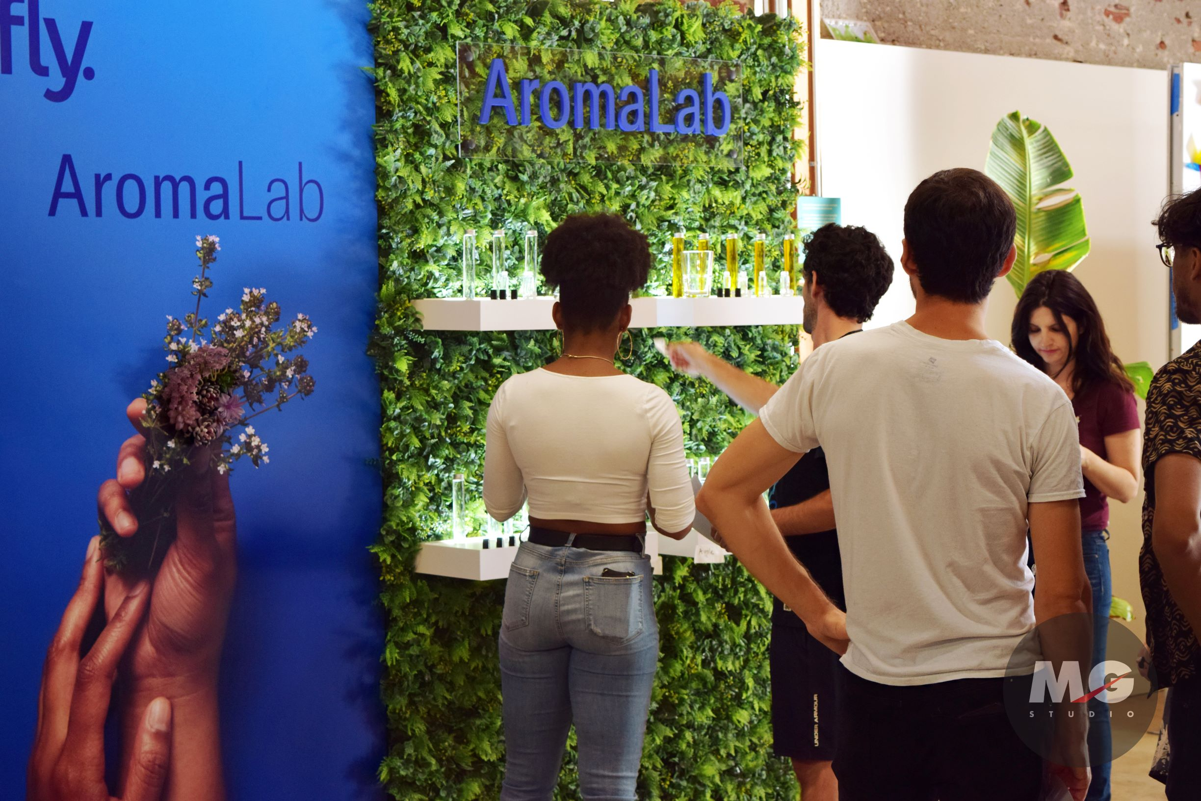 Leafly Cannabis Event Aroma Wall