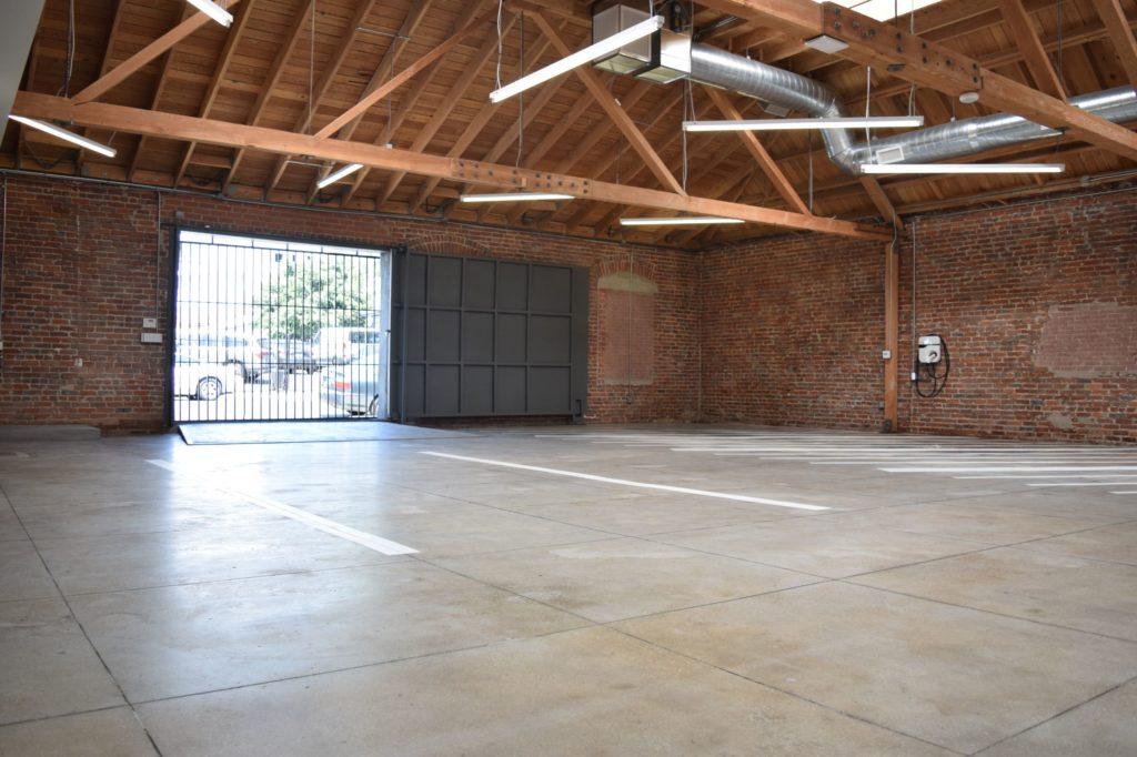 MGS Back Room Garage Closed Door
