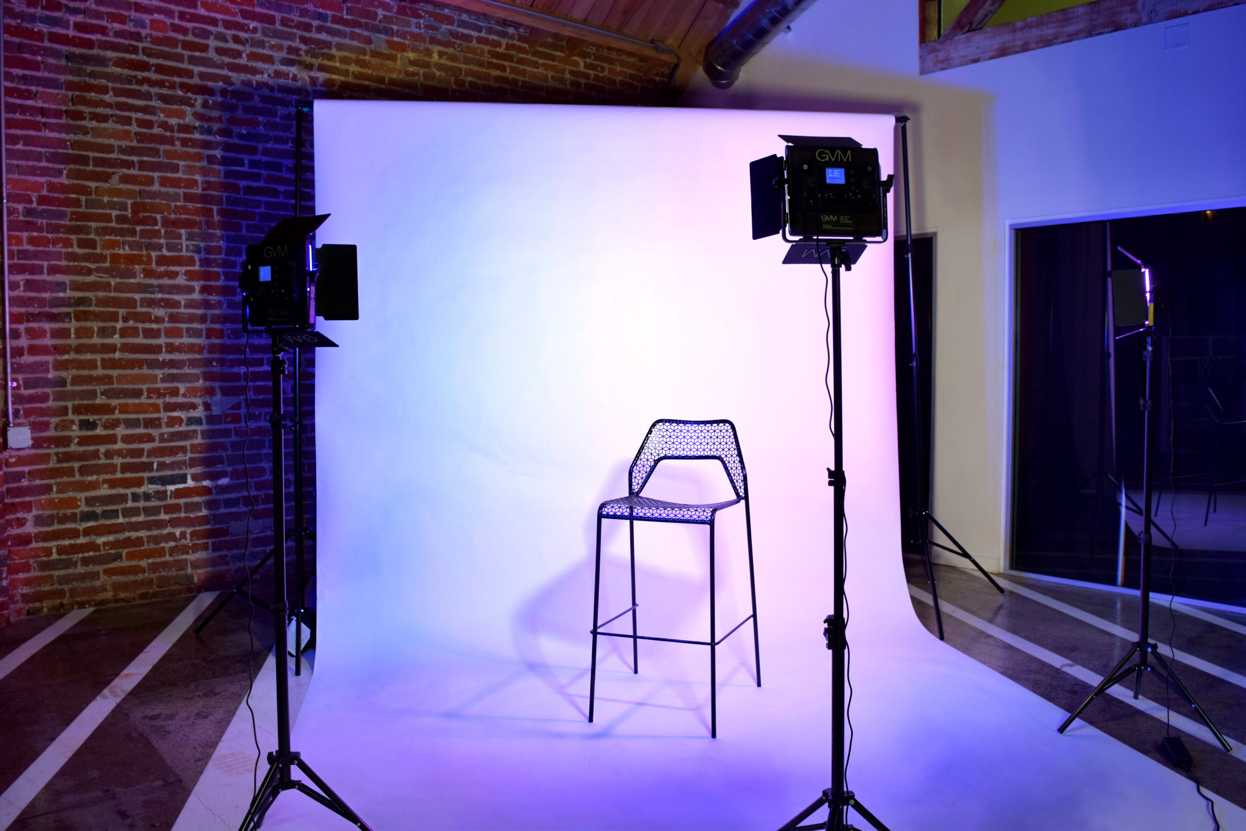 MGS Photoshoots White Seamless with Lighting Equipment Rentals