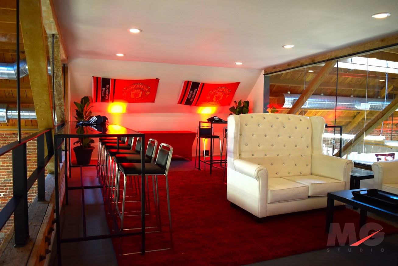 Manchester United Football Club Viewing Party VIP Lounge