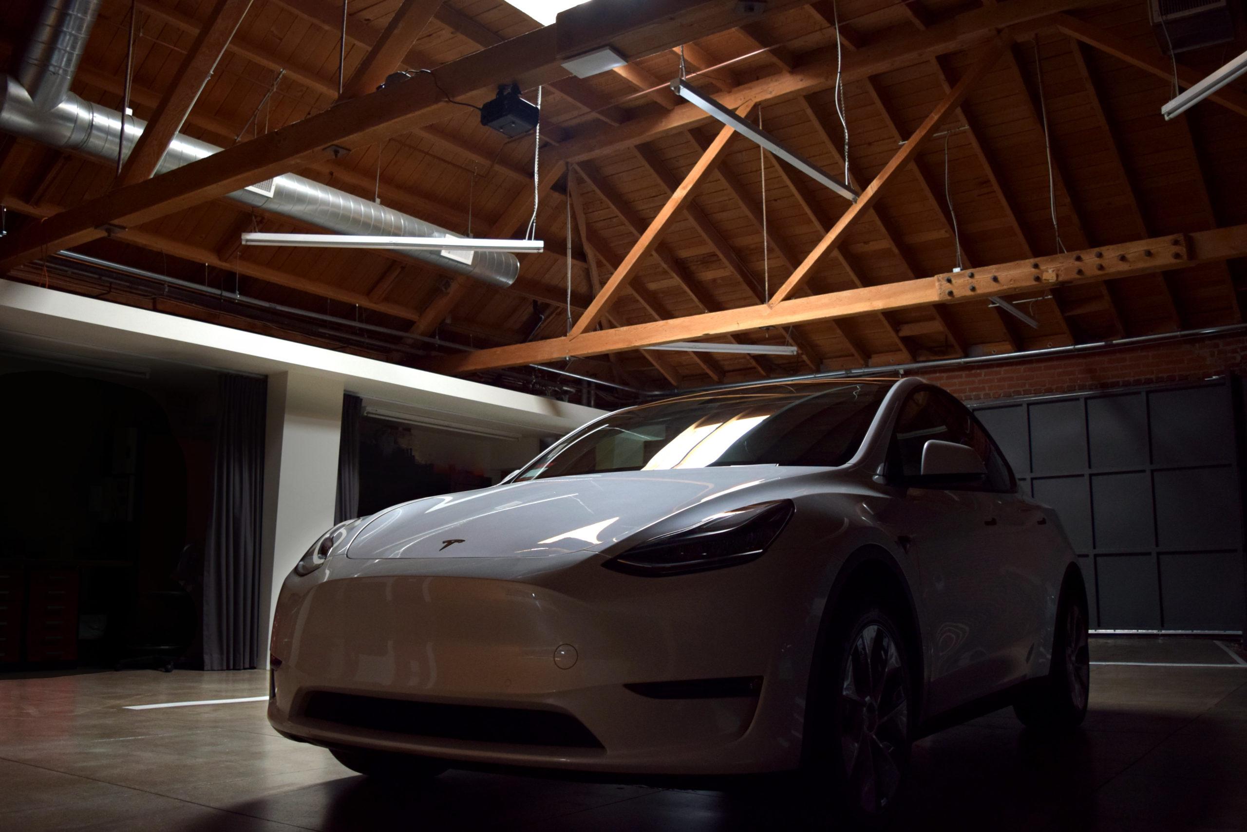 Tesla Model Y Connecticut St Dramatic