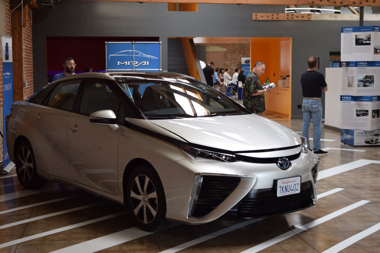 Toyota Mirai Consumer Event Entrance Fuel Cell