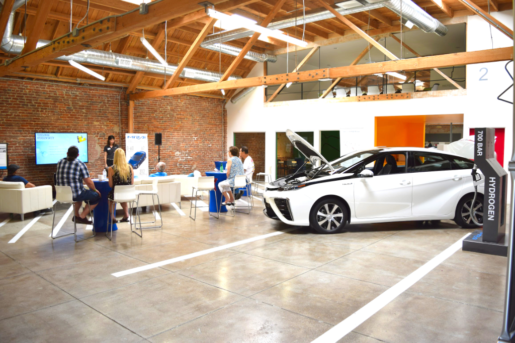 Toyota Mirai Fuel Cell MGS Event